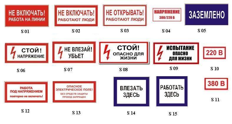 Размеры знаков электробезопасности билеты с ответами по электробезопасности в 2019 году